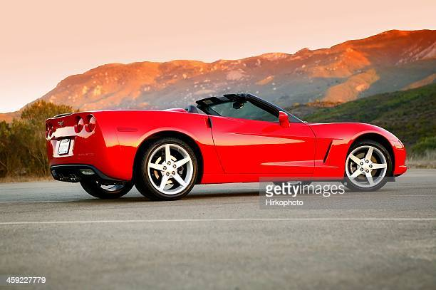 chevy corvette, 2005 - chevrolet corvette stock pictures, royalty-free photos & images