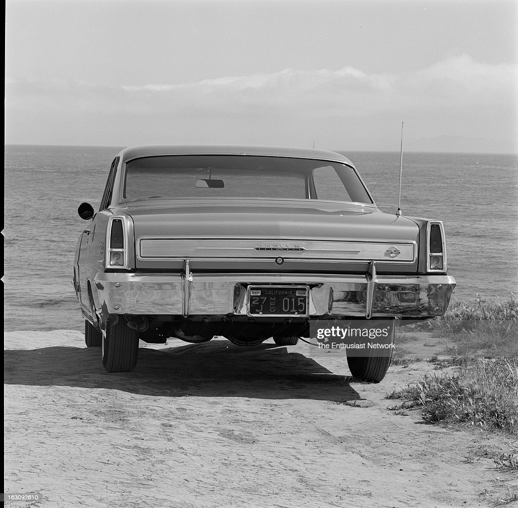 Chevy Ii Nova Super Sport With A 327 V8 Engine Road Test In The 1966 News Photo