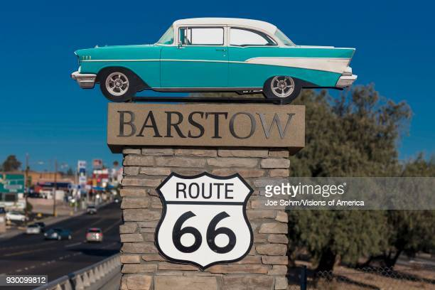 Chevy Welcomes travelers to Barstow California and old Route 66