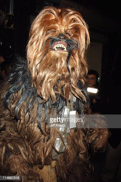 Chewbacca during 6th Annual Jammy Awards Show and Backstage at The Theater at Madison Square Garden in New York City New York United States