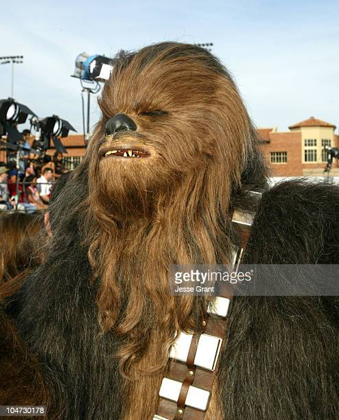 Chewbacca during Nickelodeon's 18th Annual Kids Choice Awards Orange Carpet at Pauley Pavilion in Los Angeles California United States