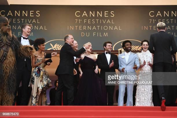 Chewbacca Finnish actor Joonas Suotamo British actress Thandie Newton US actor Woody Harrelson US director Ron Howard British actress Emilia Clarke...