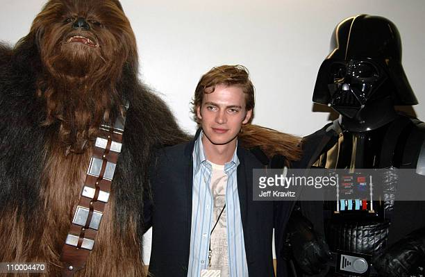 Chewbacca Hayden Christensen and Darth Vader during Nickelodeon's 18th Annual Kids Choice Awards Backstage and Audience at Pauley Pavillion in Los...