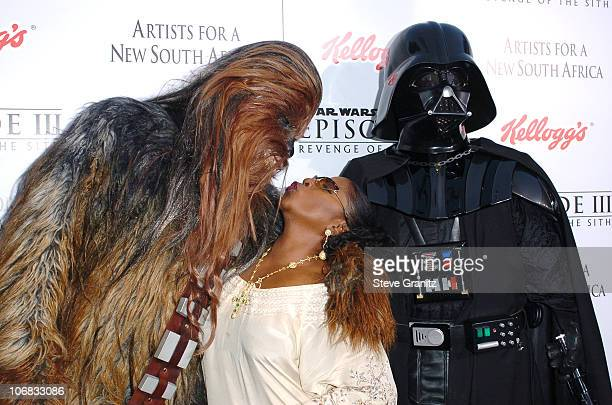 Chewbacca LaTanya Richardson Jackson Darth Vader