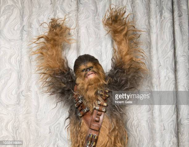 Chewbacca visits Build Series to discuss 'Solo A Star Wars Story' at Build Studio on September 14 2018 in New York City