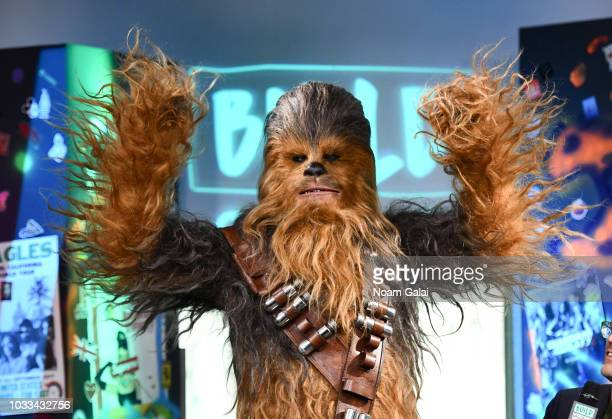 Chewbacca visits Build Series to discuss 'Solo: A Star Wars Story' at Build Studio on September 14, 2018 in New York City.