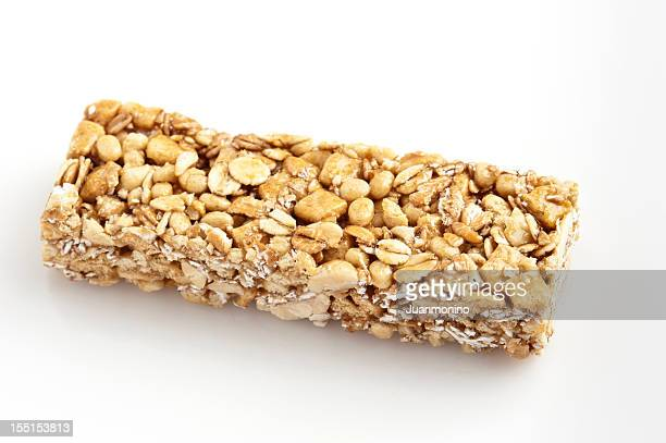 Chewy peanut butter granola bar