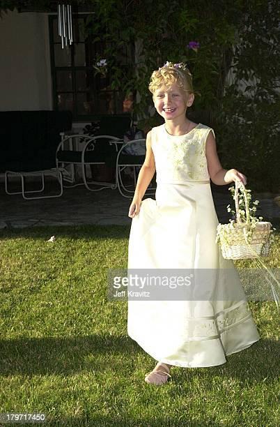 Cheyanne Alquist during David Tuchman and Melissa Caulfield Wedding 2001