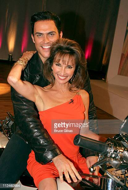 Cheyenne Jackson and Susan Lucci *Exclusive Coverage*