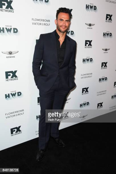 Cheyenne Jackson attends FX and Vanity Fair Emmy Celebration at Craft on September 16 2017 in Century City California