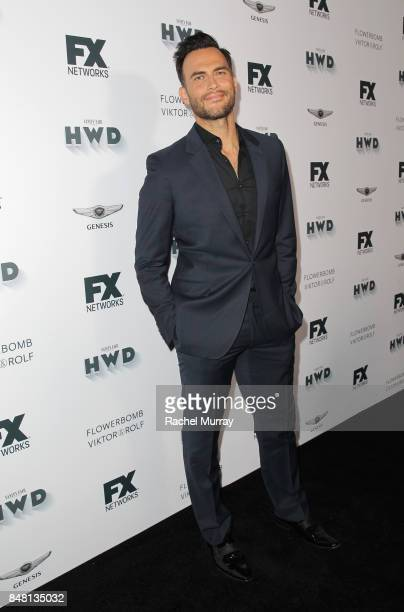 Cheyenne Jackson attends FX Networks celebration of their Emmy nominees in partnership with Vanity Fair at Craft on September 16 2017 in Century City...