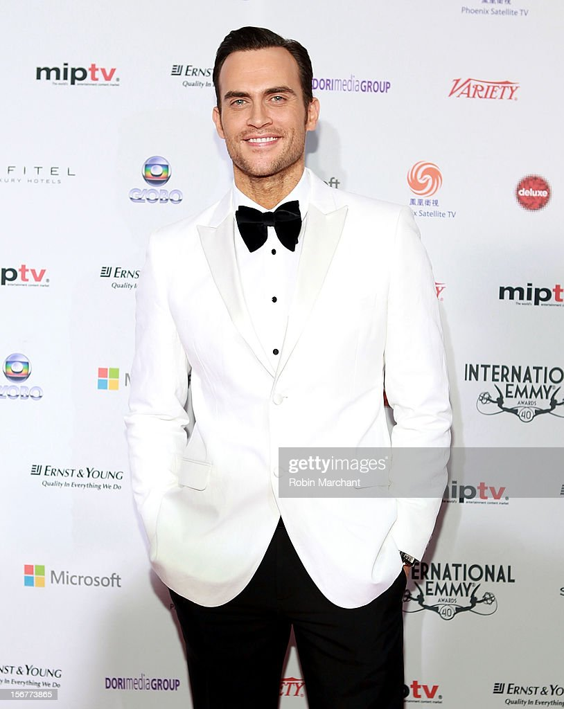 Cheyenne Jackson attends the 40th International Emmy Awards on November 19, 2012 in New York City.