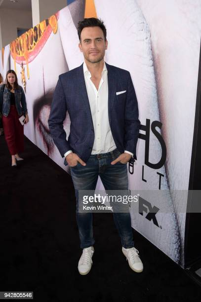 Cheyenne Jackson attends the 'American Horror Story Cult' For Your Consideration Event at The WGA Theater on April 6 2018 in Beverly Hills California