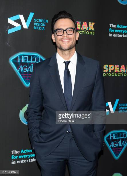 Cheyenne Jackson attends the Hello Again New York premiere at Cinepolis Chelsea on November 6 2017 in New York City