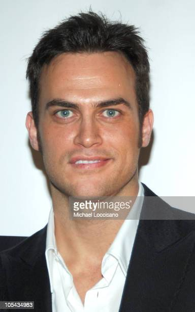Cheyenne Jackson during The 71st Annual Drama League Awards Inside Arrivals at Marriott Marquis Hotel in New York City New York United States