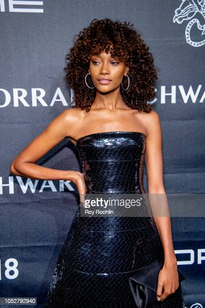 Cheyenne Maya Carty attends the 2018 Angel Ball at Cipriani Wall Street on October 22 2018 in New York City