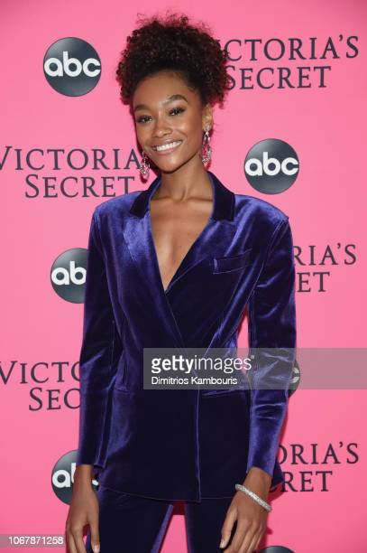 Cheyenne Maya Carty attends the Victoria's Secret Viewing Party ar Spring Studios on December 2 2018 in New York City