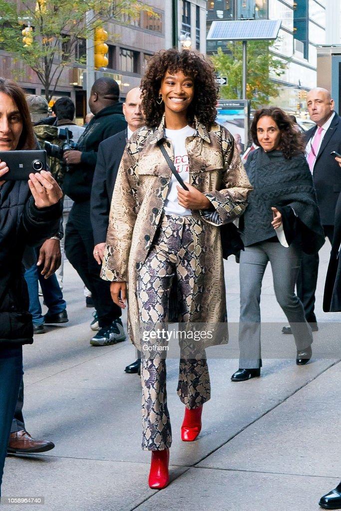 Celebrity Sightings in New York City - November 7, 2018 : News Photo
