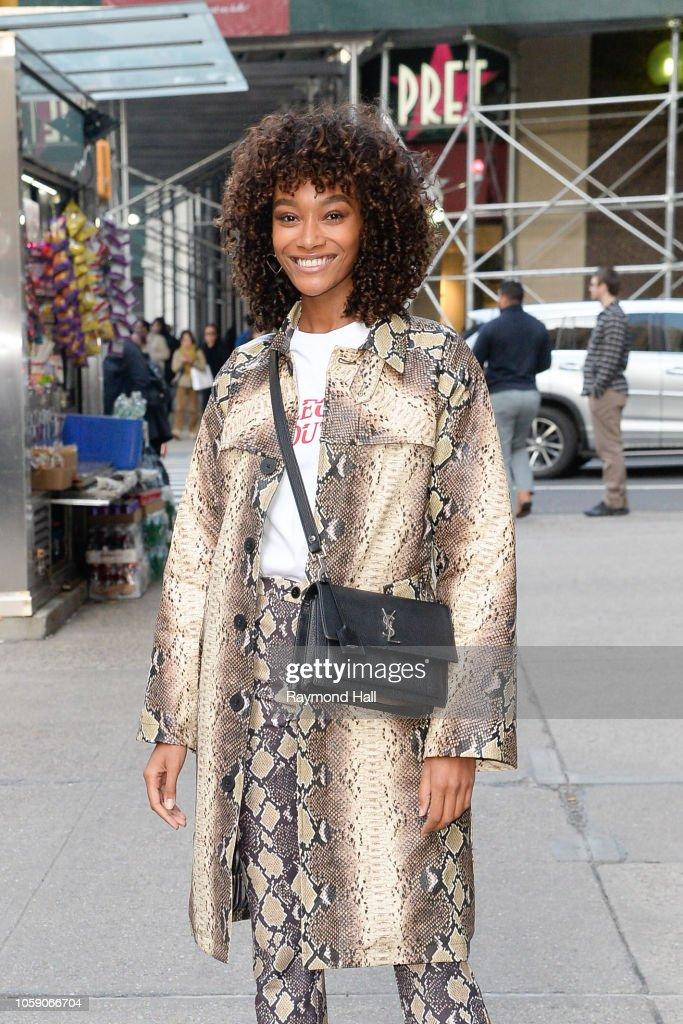 Celebrity Sightings in New York City - November7, 2018 : News Photo