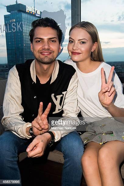 Cheyenne Ochsenknecht and Jimi Blue Ochsenknecht attends the MICHALSKY StyleNite 2016 on July 1 2016 in Berlin Germany
