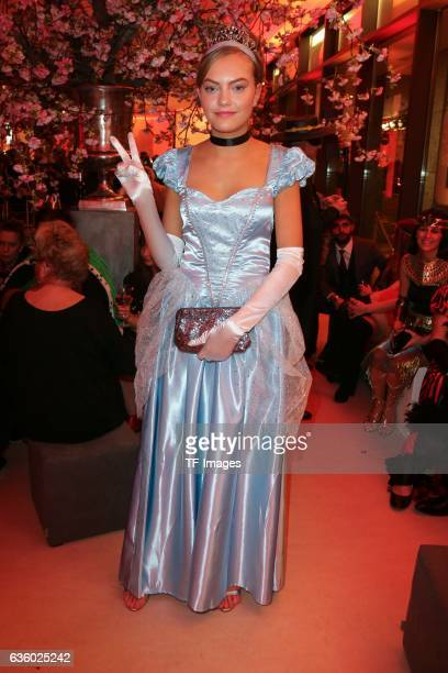 Cheyenne Ochsenknecht attends the Hollywood Superhero Fairytale Night hosted on November 26 2016 in Darmstadt Germany