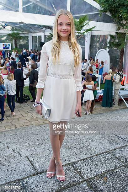Cheyenne Ochsenknecht attends the Raffaello Summer Day 2014 at Kronprinzenpalais on June 21 2014 in Berlin Germany