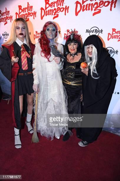 Cheyenne Ochsenknecht Natascha Ochsenknecht Baerbel Wierichs and Wilson Gonzalez Ochsenknecht attend Natascha Ochsenknecht's Halloween Party at...