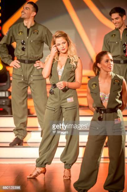 """Cheyenne Pahde on stage during the 7th show of the tenth season of the television competition 'Let's Dance' on May 5, 2017 in Cologne, Germany. """"n"""