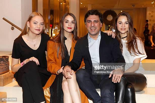 Cheyenne Savannah Ochsenknecht Luise Befort Shan Rahimkhan and Julia Felicitas von Anhalt attend the Shan's Beauty Dinner on December 13 2016 in...