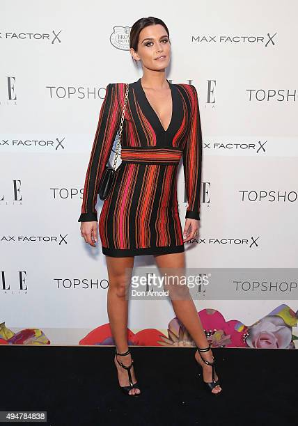 Cheyenne Tozzi arrives ahead of the ELLE Style Awards at The Mint on October 29 2015 in Sydney Australia