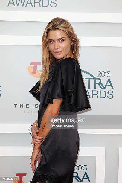 Cheyenne Tozzi arrives at the 2015 ASTRA Awards at the Star on March 12 2015 in Sydney Australia