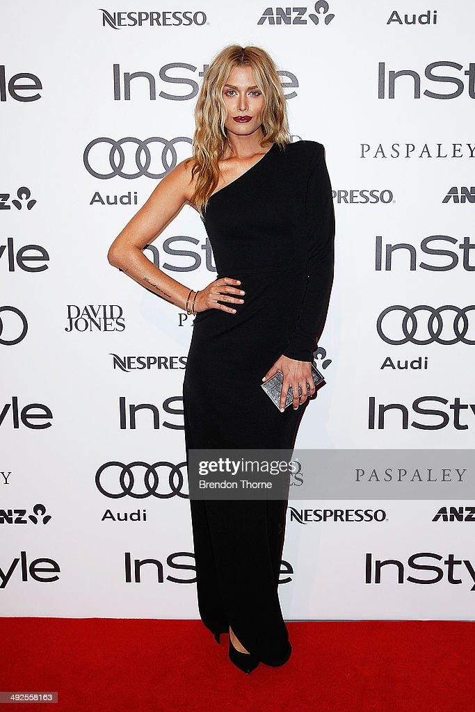 Cheyenne Tozzi arrives at the Instyle and Audi 'Women of Style' Awards on May 21, 2014 in Sydney, Australia.
