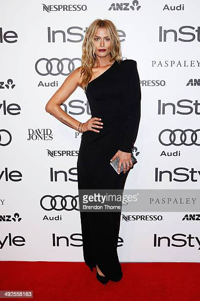 Cheyenne Tozzi arrives at the Instyle and Audi 'Women of Style' Awards on May 21 2014 in Sydney Australia