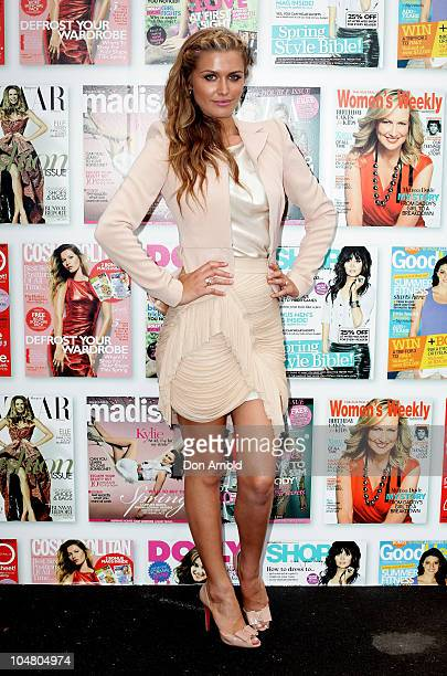Cheyenne Tozzi attends Fashion Show Day during 30 Days of Fashion and Beauty at The Entertainment Quarter on September 4 2010 in Sydney Australia