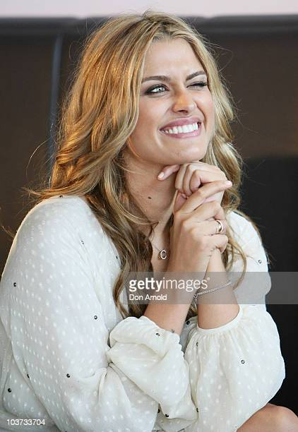 Cheyenne Tozzi attends the 30 Days of Fashion and Beauty 2010 launch at the Overseas Passenger Terminal on August 31, 2010 in Sydney, Australia.
