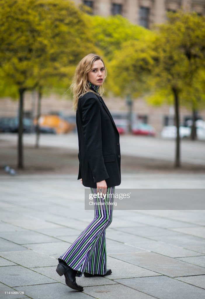 DEU: Street Style - Berlin - April 05, 2019