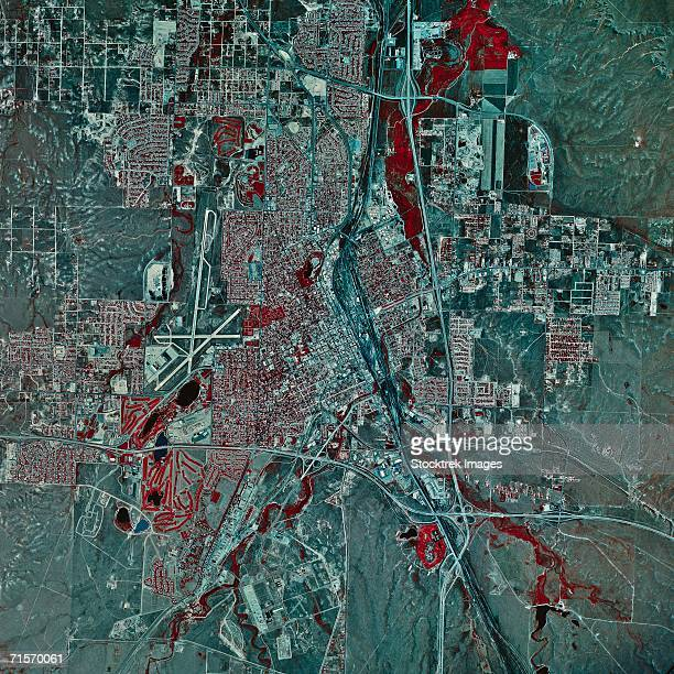 """Cheyenne, Wyoming, satellite image"""