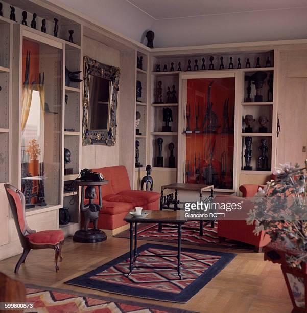 Chez Helena Rubinstein à New York en juillet 1962 EtatsUnis