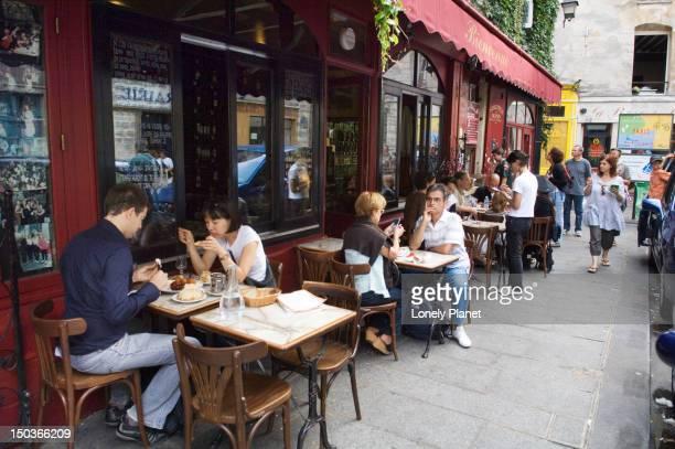 Chez Marianne in the Marais.