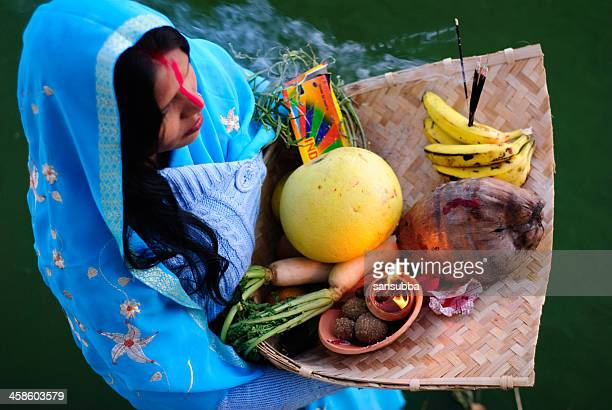 chhath puja - chhath festival stock pictures, royalty-free photos & images