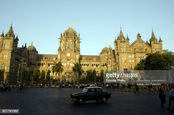Chhatrapati shivaji terminus railway station at mumbai, Maharashtra, India