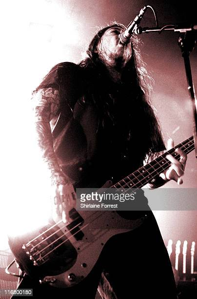 Chi Cheng of Deftones during Deftones in Concert at Manchester Academy March 11 2007 at Manchester Academy in Manchester Great Britain