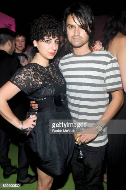 Chi Chi Menendez and Alec Andon attend Party to Celebrate VISIONAIRE 57 2010 at The Delano on December 4 2009 in Miami Beach Florida
