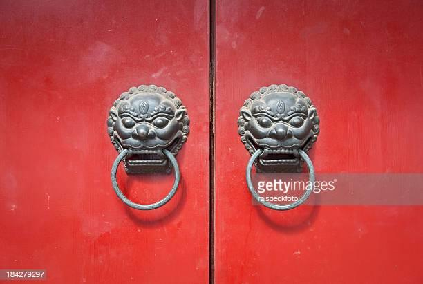 Chi Lin Door Knocker in Shanghai, China