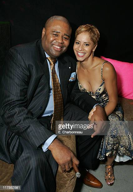 Chi McBride and fiance Julissa Marquez during FoxSearchlight Pictures Present the Los Angeles Premiere of Roll Bounce After Party at The Bridge at...