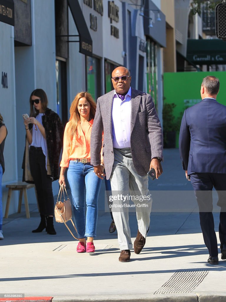 Celebrity Sightings In Los Angeles - February 14, 2017 : News Photo