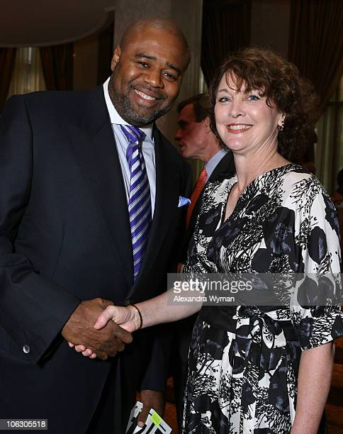 Chi McBride and Judith Gasson during 2007 Taste for a Cure at Beverly Wilshire Hotel in Beverly Hills California United States