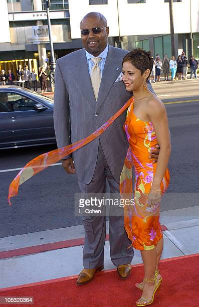 Chi McBride and Julissa Marquez during The Terminal World Premiere Red Carpet at Academy Motion Picture Arts and Sciences in Beverly Hills California...
