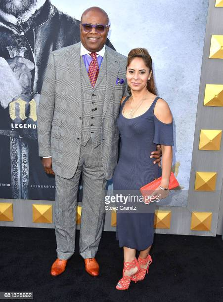 Chi McBride and Julissa McBride arrives at the Premiere Of Warner Bros Pictures' King Arthur Legend Of The Sword at TCL Chinese Theatre on May 8 2017...