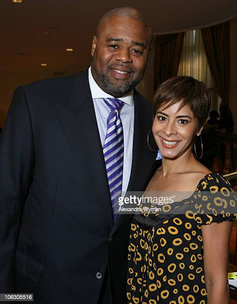 Chi McBride and Katie McBride during 2007 Taste for a Cure at Beverly Wilshire Hotel in Beverly Hills California United States